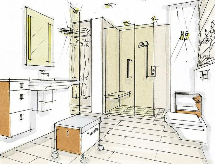 Bathroom for the elderly: Villeroy & Boch