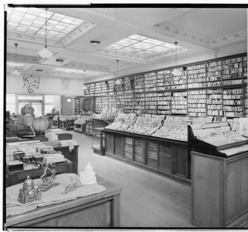 A.C. Vromans Bookstore, 329 East Colorado, Pasadena. 1937.