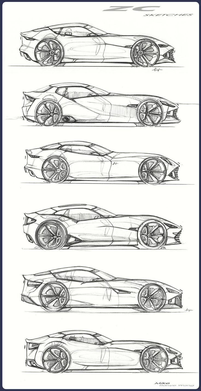 Mike T. Wang's design blog: Chrysler GT based on Viper chassis