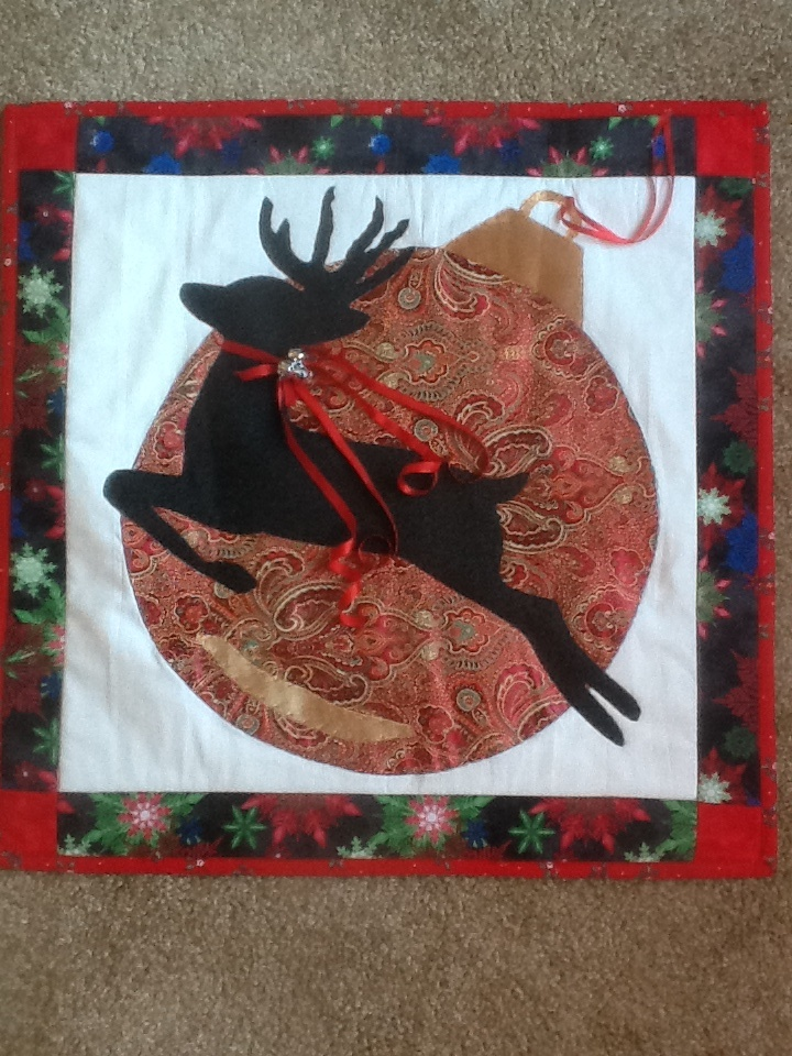 135 best reindeer quilts and crafts images on Pinterest ... : reindeer quilt patterns - Adamdwight.com