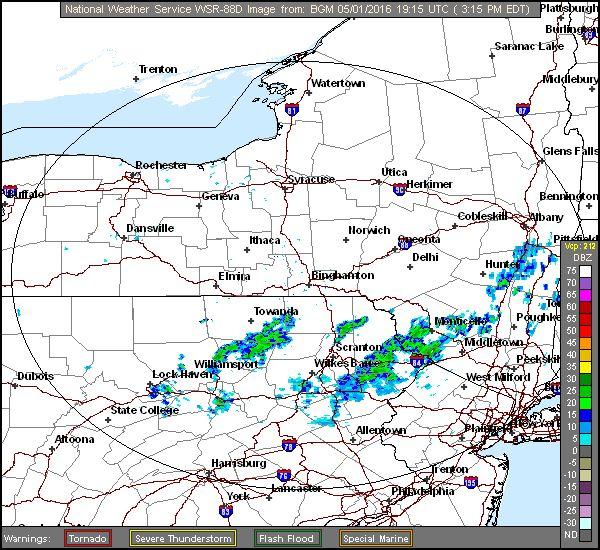 Luzerne County, PA Weather Radar Doppler