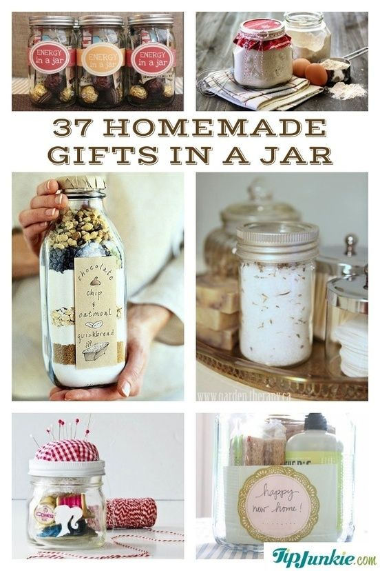 37 Recipes How To Make Gifts In A Jar - Tip Junkie