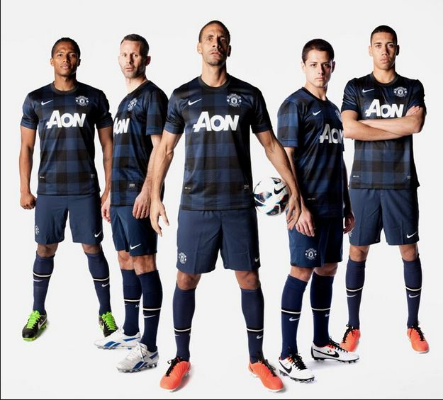 Manchester United have unveiled their new away kit for this season.