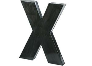 Decoratie letter X. Mooi als wanddecoratie of gewoon om ergens neer te zetten