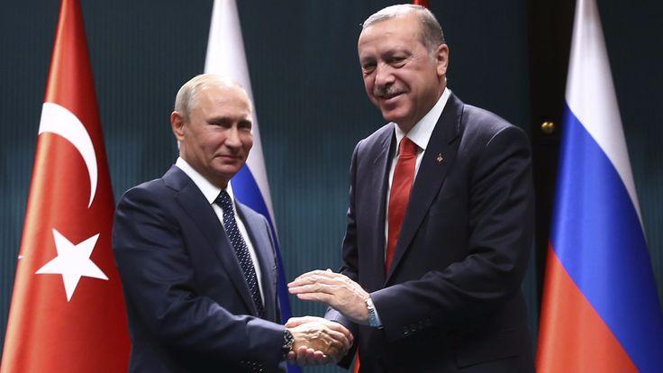 Treffen in Ankara - Erdogan und Putin einig in Sachen Syrien und Irak - Politik Ausland - Bild.de