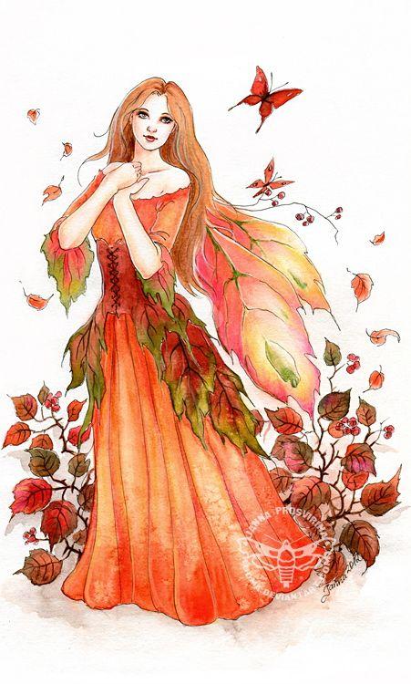 Fairy and Fantasy art by Janna Prosvirina - Liv