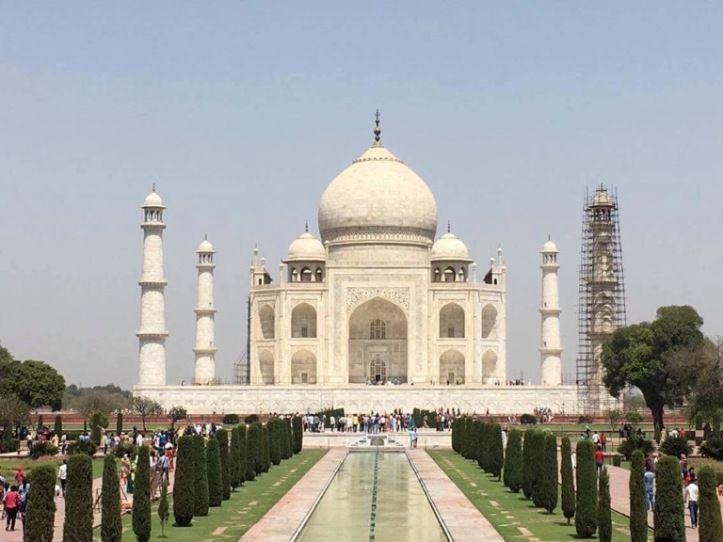 Taj Mahal in all her glory