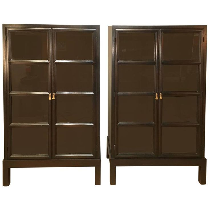 Pair of Widdicomb Mahogany Bookcases | From a unique collection of antique and modern bookcases at https://www.1stdibs.com/furniture/storage-case-pieces/bookcases/