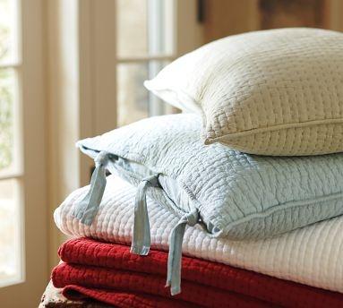 pick stitching by pottery barn #pick_stitch #quilt