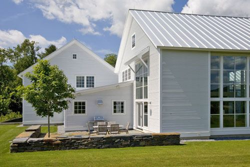 modern farmhouse, awesome windows, metal roof