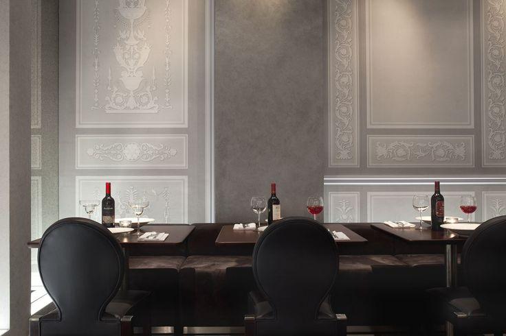 74 best restaurant interiors images on pinterest. Black Bedroom Furniture Sets. Home Design Ideas