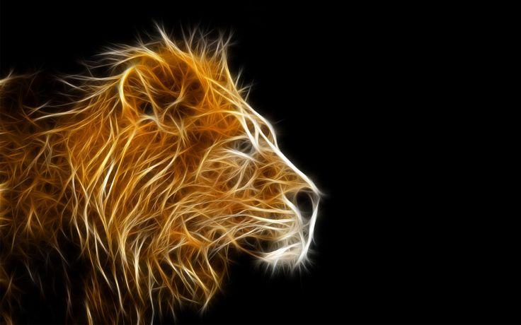 3D lions head wallpaper. https://3dwallpaper.gallery/3d ...