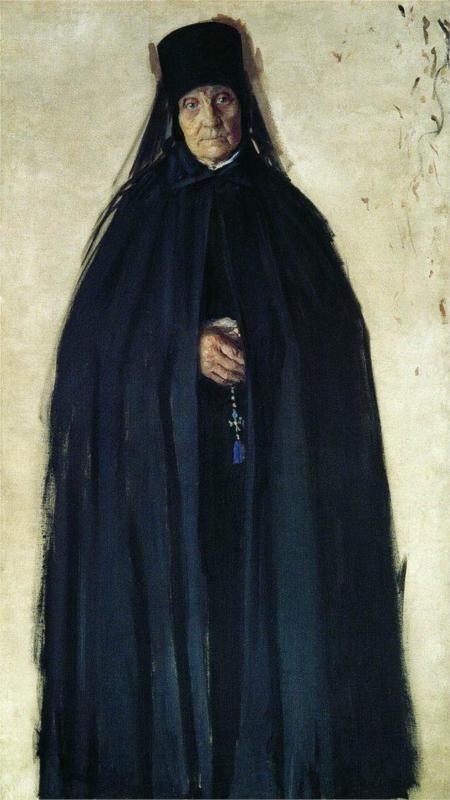 """The Abbess""....by Boris Kustodiev...1909"