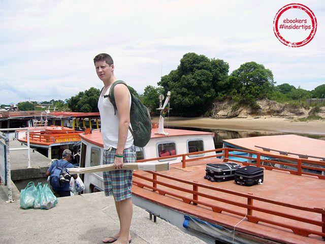Philip ist für seine Reise in #Curitiba und auf Ilha do Mel startbereit!