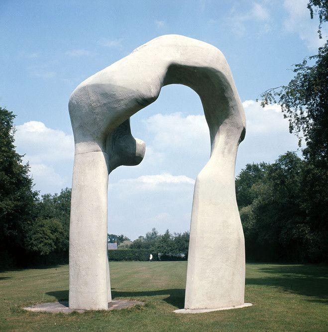 mooi voorbeeld van een open vorm. een open vorm is een vorm waar je doorheen kunt kijken