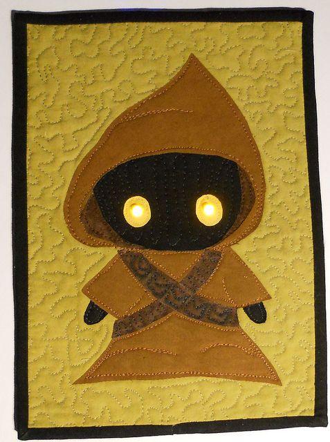 Star Wars mini quilt