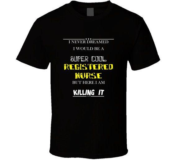Registered Nurse t-shirt. Registered Nurse tshirt. by TeeDino