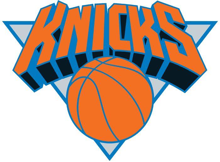 New York Knicks Primary Logo (1993) - Knicks in orange on ...