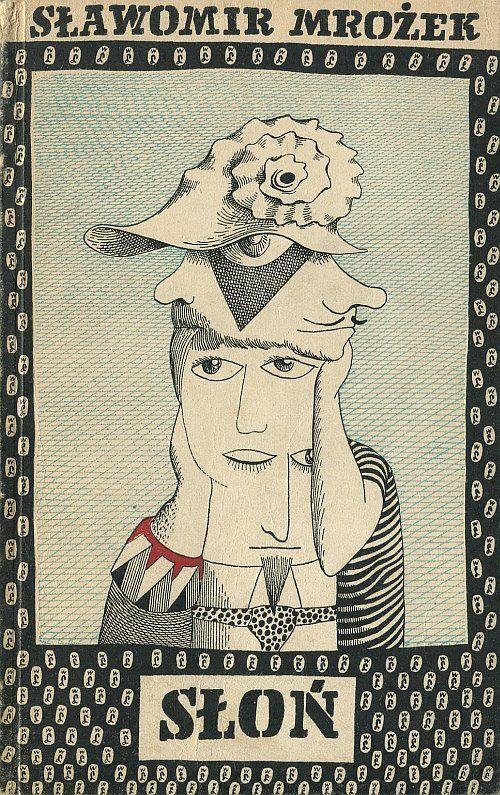 Elephant. Cover by Daniel Mróz. 1958.