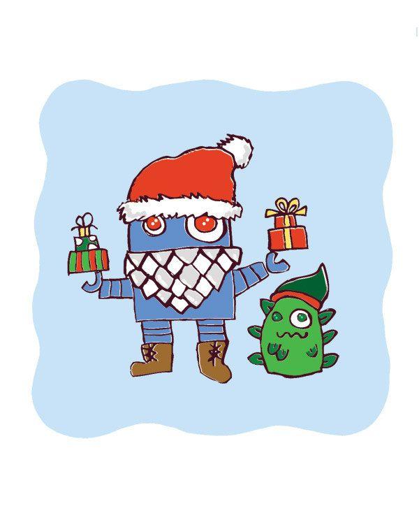 Merry Robo Christmass