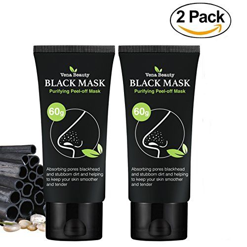 Blackhead Remover Black Mask- (2 Pack )Purifying Peel-off Mask Deep Cleansing. For product & price info go to:  https://beautyworld.today/products/blackhead-remover-black-mask-2-pack-purifying-peel-off-mask-deep-cleansing/