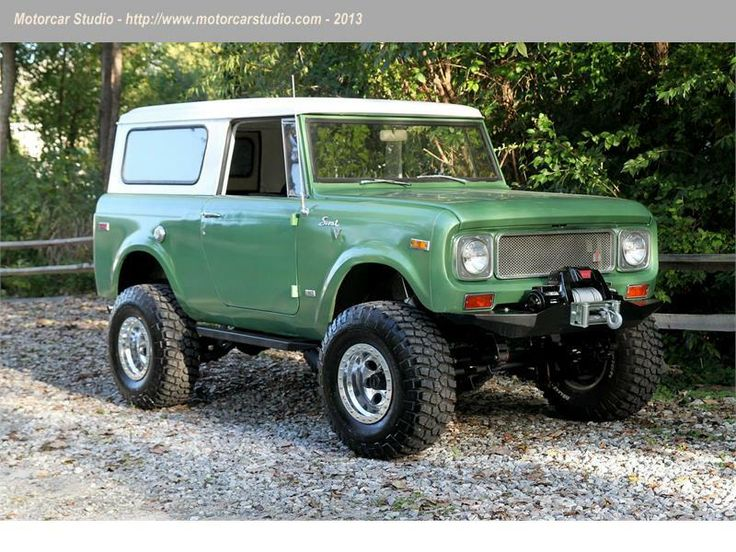 1971 International Scout 800b 304ci Cool Classic 4x4 S Dude Pinterest Toys I Wish And