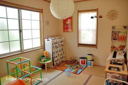 1階子供部屋(和室) | STARRY プレイルームにしている和室、少しマイナーチェンジをしました。