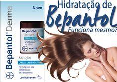 hidratação de bepantol funciona? Funciona sim e é tudo de bom para todos os tipos de cabelo, inclusive os ressecados, com progressiva, loiros e até oleosos!