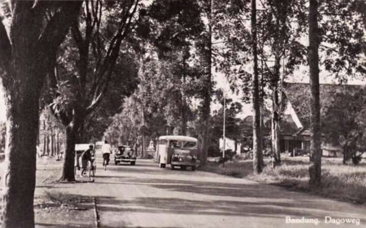 Jl.H.Juanda, Bandung 1940an