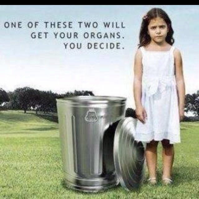 Organ Donation... Just do it!