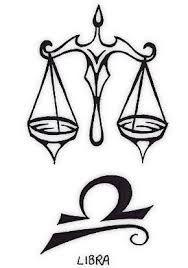 Resultado de imagem para tattoo de signo libra
