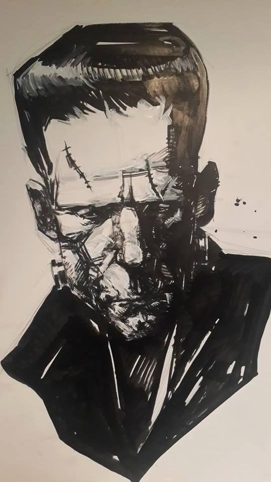 Frankenstein's Monter by Gerardo Zaffino *