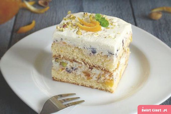 Ciasto Cassata - Swiatciast.pl