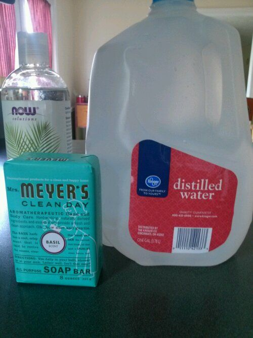 how to make liquid body wash from bar soap