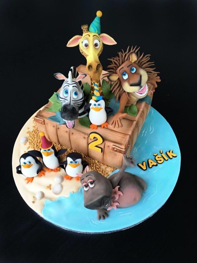 Madagascar II - Cake by Romana Bajerová