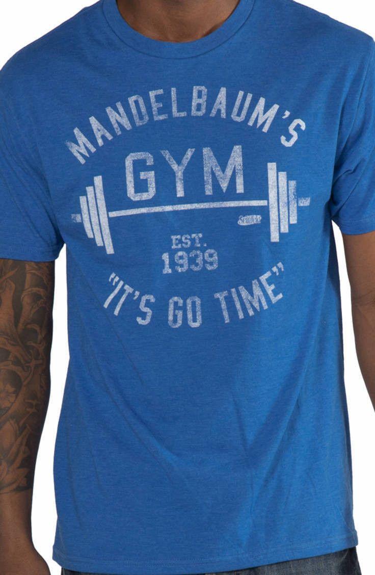 Mandelbaums Gym Seinfeld Shirt: Izzy Mandelbaum Is My Trainer