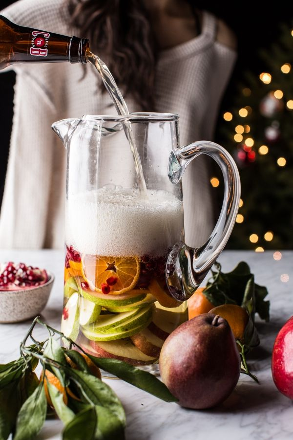 Sweet Tooth Girl | Christmas Sangria