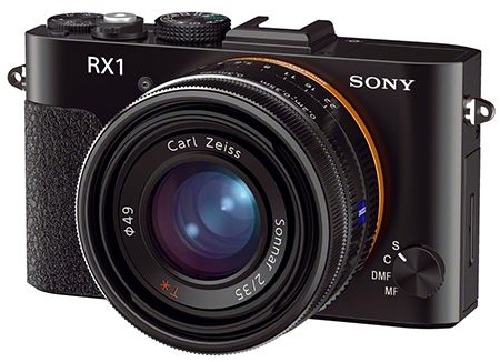 The Sony RX1 is a full frame point and shoot camera. It will be really interesting to see if this is a good performe - it is meant to compete directly with Leica's M9.