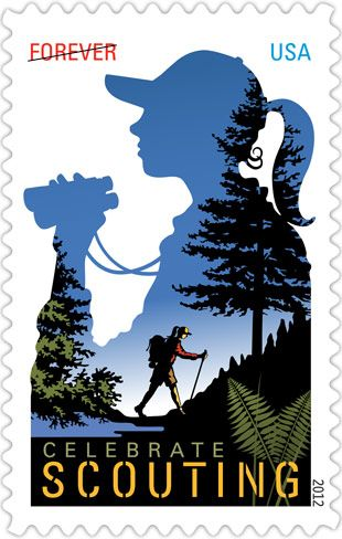 Girl Scout Forever postage stamp available in June to celebrate 100 years