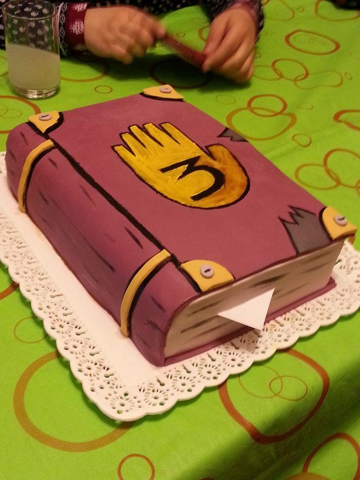Torta Gravity Falls. Cabaña Del Misterio. Dipper. Por Kilo. - $ 299,00