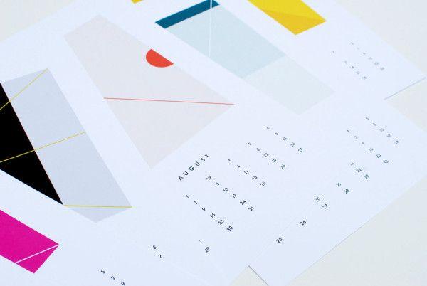 2016 Colors Wall Calendar by Dozi \\\ $26, Dozi-Colors-wall, design-milk