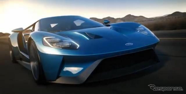 フォード の新型スーパーカー、GT …600hpを解き放つ[動画] http://dlvr.it/8ggQc1