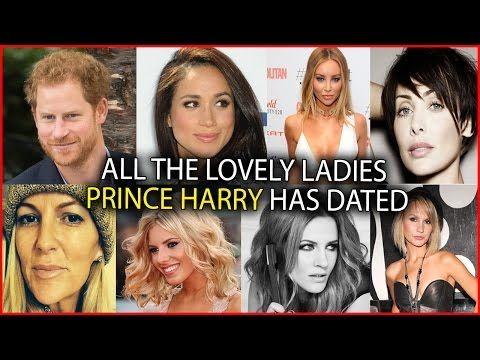 Prince Harry: Who Is He Dating? The Complete List Of Women In His Life - YouTube