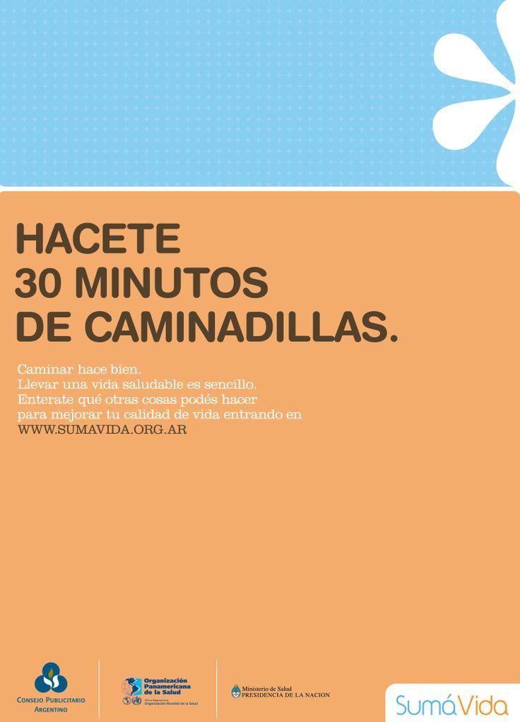 """""""Sumá vidas - caminadillas-"""" 2008"""