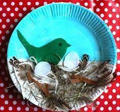 vogelnestjes knutselen - Google zoeken