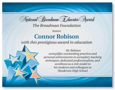 Examples Of Certificates Of Appreciation Wording] Certificates ...