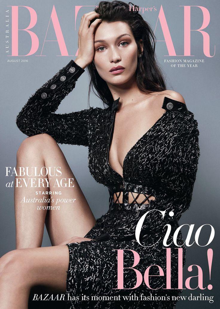 Harpers Bazaar Australia August 2016 Bella Hadid by Georges Antoni-1