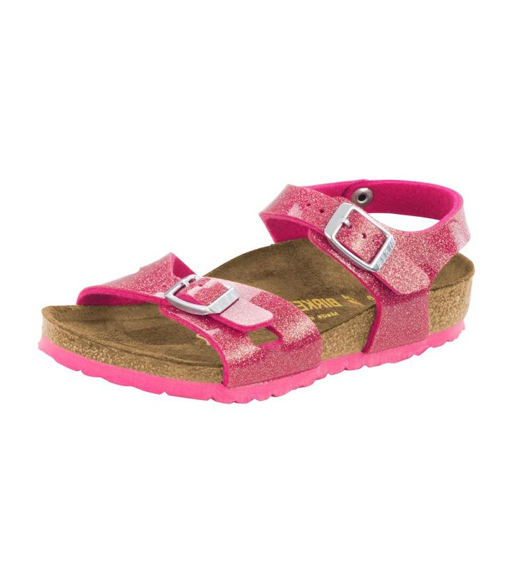 Birkenstock Rio Kids BF Magic Galaxy Bright Rose, Kids Footwear, www.oishi-m.com