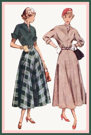 Mid 40s style dresses