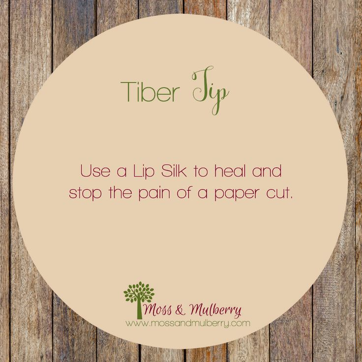 #tibertip for healing a paper cut. Find more #tips on Facebook at https://www.facebook.com/tiberwithcassidy #tiberrivernaturals #tiberriver #ecochicks